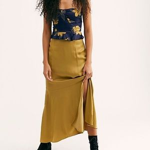Free people on the town skirt set